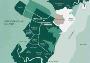 Medini location