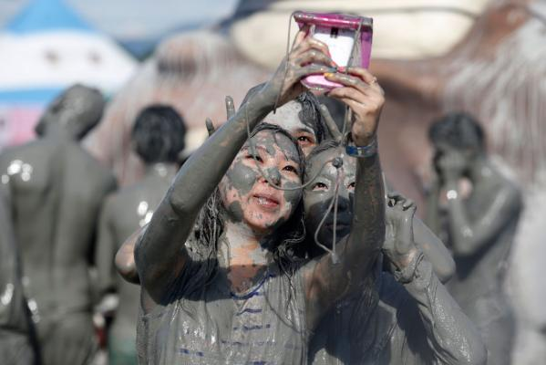 Mud madness: Getting dirty in South Korea