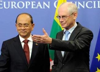 EU vows to build partnership with Myanmar