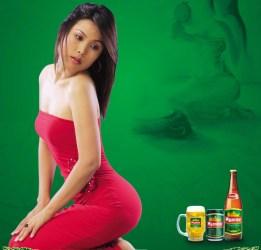 Myanmar beer ad