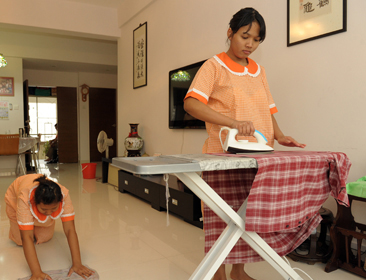 Myanmar to export household workforce to Singapore