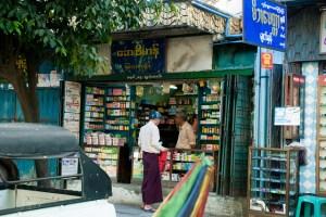 Pharmacy in Yangon, Myanmar
