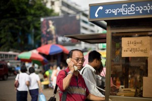 Myanmar poised for mobile phone boom