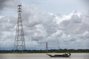 Myanmar power grid