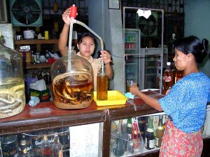 Locals in Myanmar might have to resort to domestic liquor products