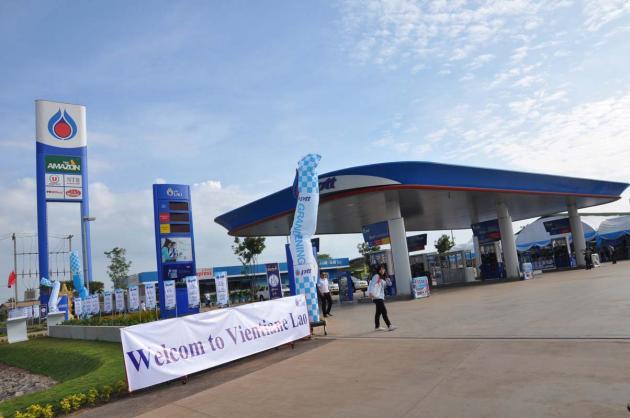 Petrol Station Laos
