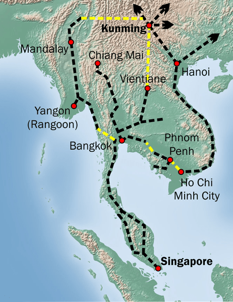 China-ASEAN rail network advances