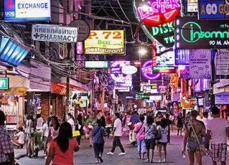 Tourism numbers in Pattaya drop sharply