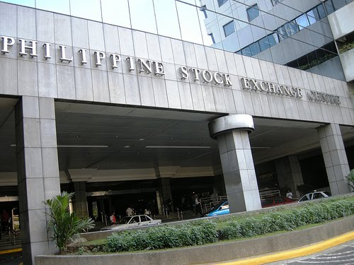 Philippine Stock Exchange Above