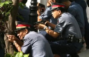 Philippine police glock