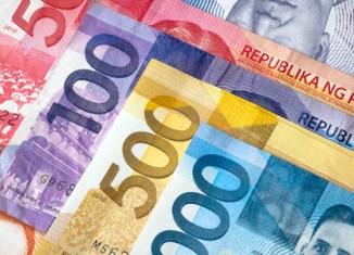 Philippine government deficit surges