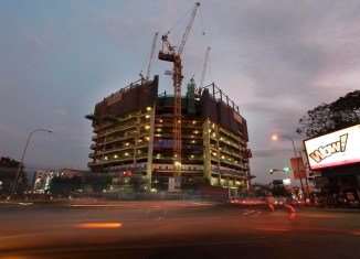 Cambodia construction sector takes off