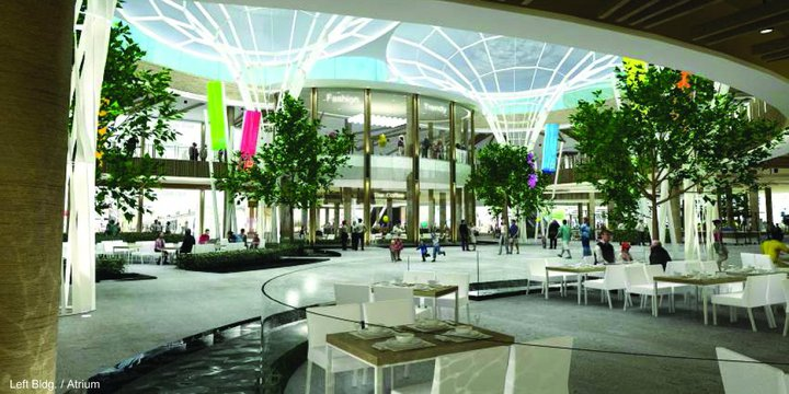 Thailand opens first resort-style shopping mall