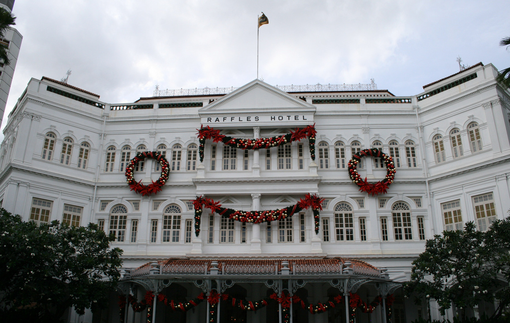 Raffles hotel sold to Qatari Diar