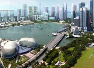 Commercial property deals in Singapore crash 50%