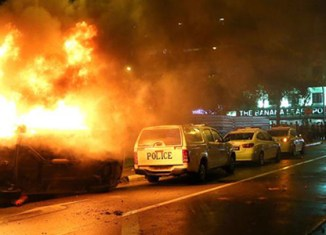 Singapore hit by first riot in decades