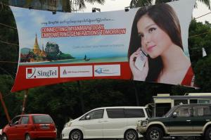 Singtel myanmar