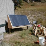 Sweden experiments with solar heating