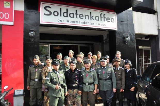 Indonesia Nazi coffeehouse causes outrage