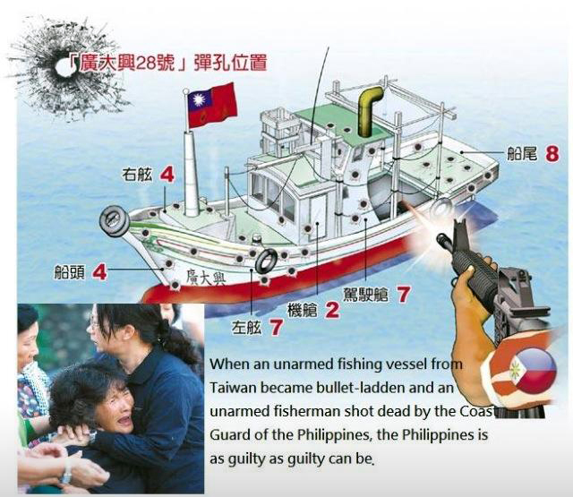 Taiwan, Philippine reconciliation looks dim
