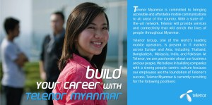 Telenor myanmar jobs