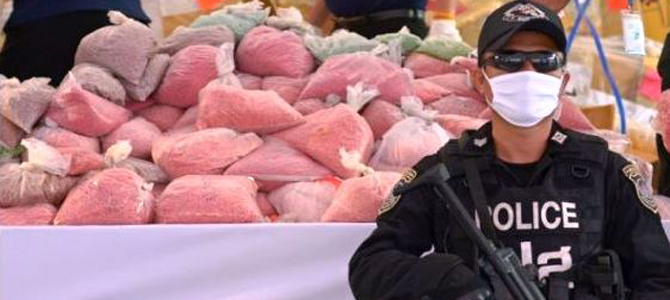 Thailand burns $400m worth of drugs (video)