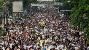 Thai protest march
