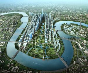 Proposed layout of the new business district in Ho Chi Minh City