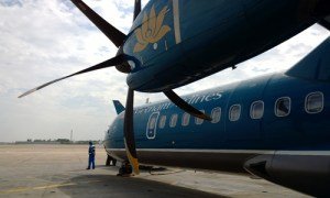 Vietnam airlines turboprop