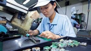 Vietnam mobile phone factory