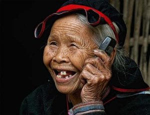Vietnam old woman