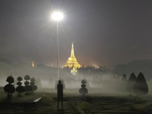 Yangon fog