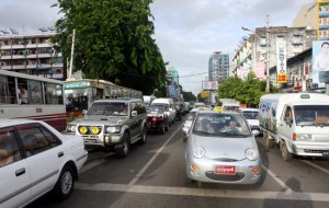 Yangon jam