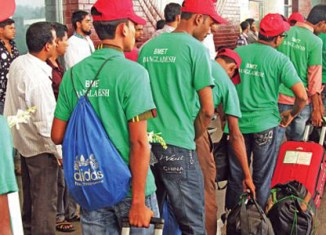 1.4 million Bangladeshis seeking work in Malaysia