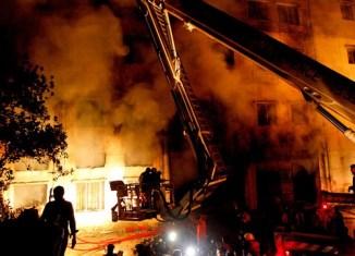 Next disaster in Dhaka clothing factory