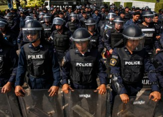 Thai gov't to deploy 200,000 police on election day