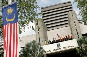 The Bank Negara Malaysia, the country's