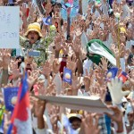 Cambodia's opposition launches daily protests