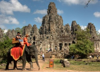 Cambodia's tourism steadily growing