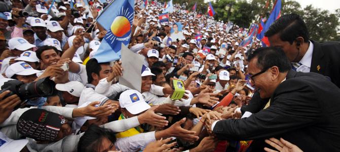 Heavy losses for Hun Sen in Cambodia election