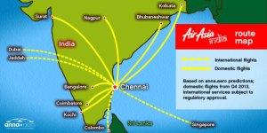 chennai-route-map
