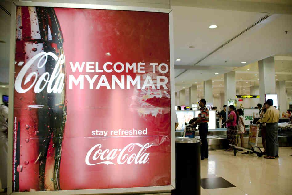 Coke steps up production in Myanmar
