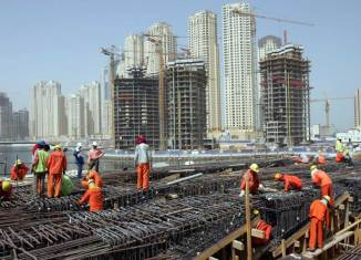 Dubai short of half a million construction workers