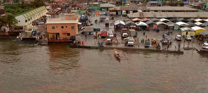 500,000 liter spilled diesel turn Manila Bay red
