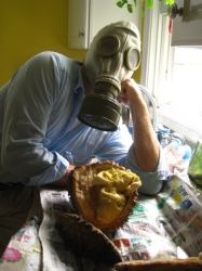 durian gas mask