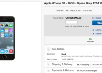 iPhone with Flappy Bird app reaches $99,900 on eBay