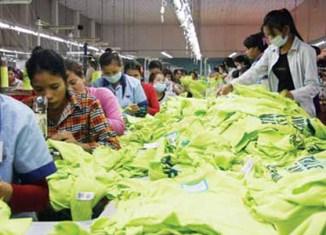 Cambodia's textile industry grew 32%