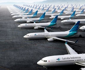 Garuda Indonesia loss widens in first quarter