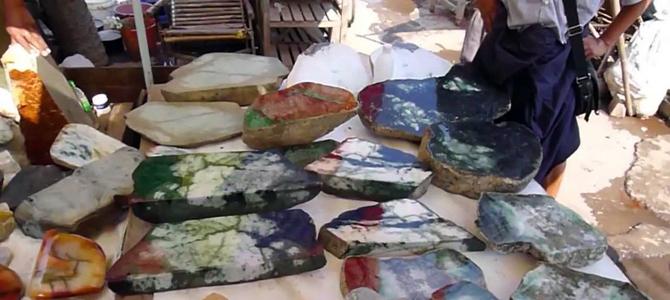 Myanmar earns $2.4b from gems