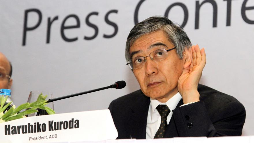 ADB president accepts Bank of Japan call